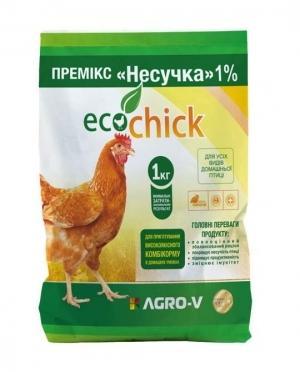Премикс ECOchick Несушка 1%