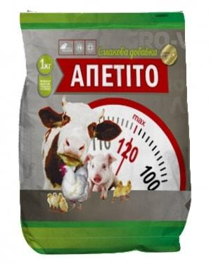 Кормовая Вкусовая Добавка Аппетито, 1 кг