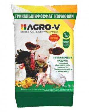 Трикальций Фосфат Кормовой, 1 кг