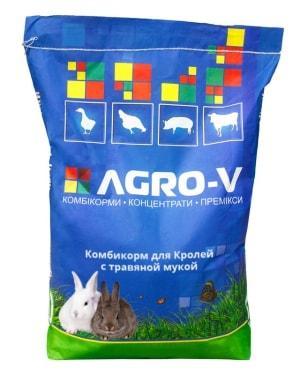 Комбикорм для Кролей с травяной мукой