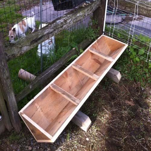 кормушка бункер для свиней
